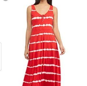 Nwot chaps tye dye maxi dress